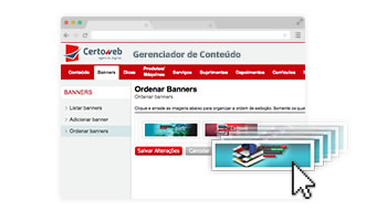 Gerenciador de conteúdo (CMS)
