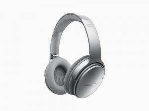 Fones de Ouvido sem Fio com Cancelamento de Ruído QuietComfort 35 II, Bose, Prata