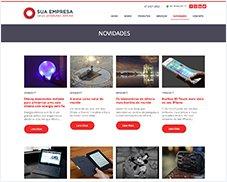 Novidades - Site Pronto Certoweb