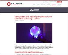 Novidades Detalhes - Site Pronto Certoweb