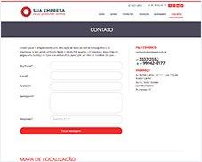 Contato - Site Pronto Certoweb