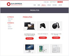 Produtos - Site Pronto Certoweb