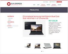 Produtos Página de Detalhes - Site Pronto Certoweb