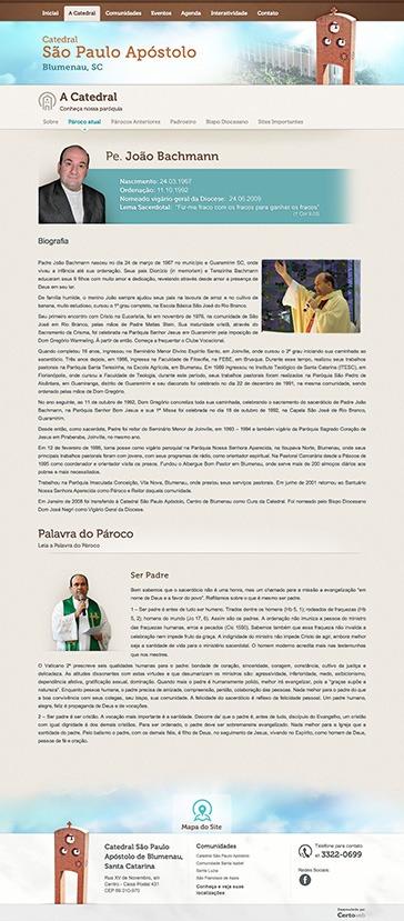 Catedral São Paulo Apóstolo - Catedral de Blumenau