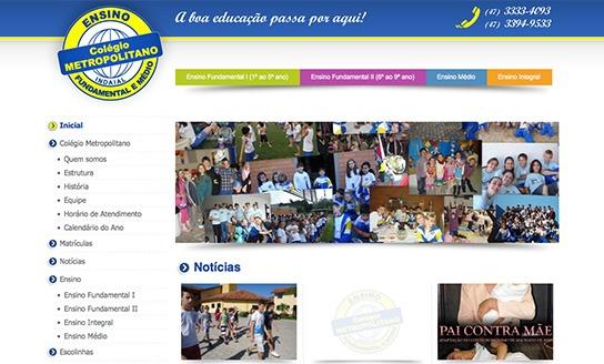 Colégio Metropolitano - Ensino Fundamental, Médio e Integral