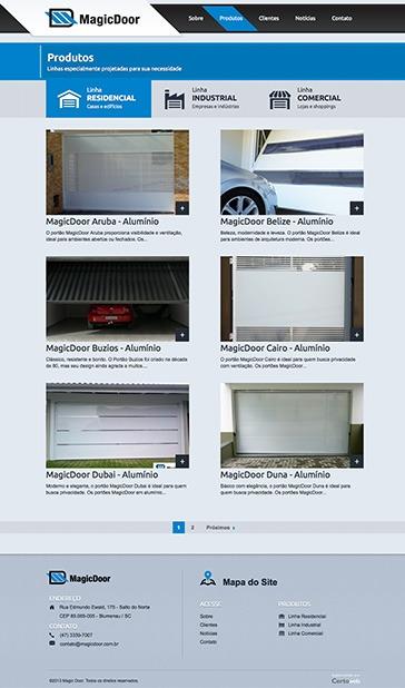 Magic Door - Portas e soluções em fechamentos residenciais, industriais e comerciais