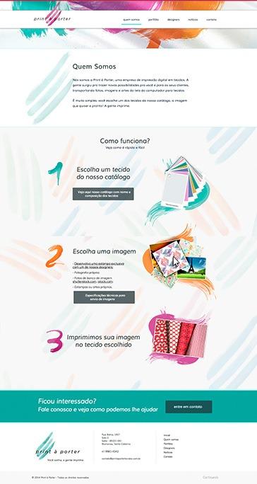 Print à Porter - Impressão Digital em Tecidos