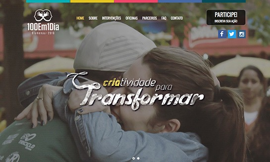 100 em 1 Dia Blumenau 2016 - Projeto Social
