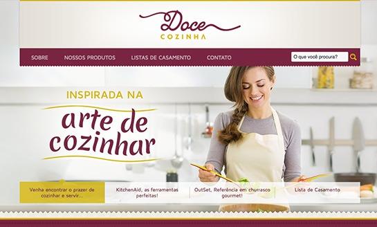 Doce Cozinha - Inspirada na Arte de Cozinhar