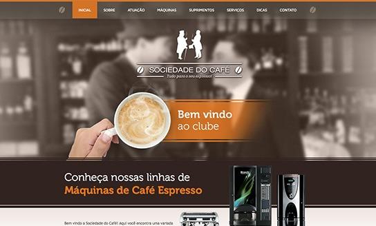 Sociedade do Café - Distribuidora e operadora de máquinas e insumos de café
